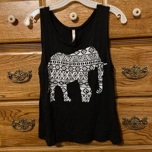 🌟3for$10🌟Open Back Elephant Tank Top